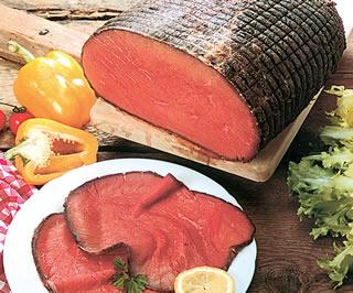 Topside roast beef