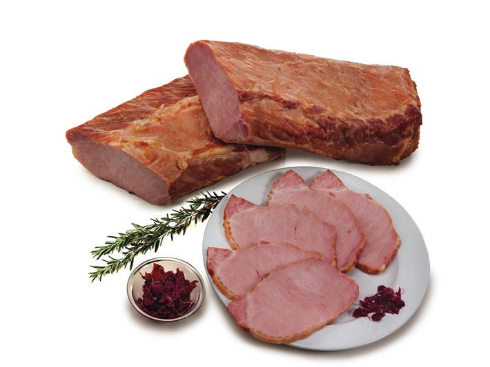 Smoked boneless pork loin